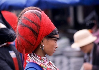 Hmong head dress