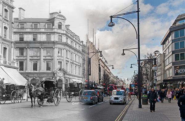 Oxford Street c.1903 - 2014