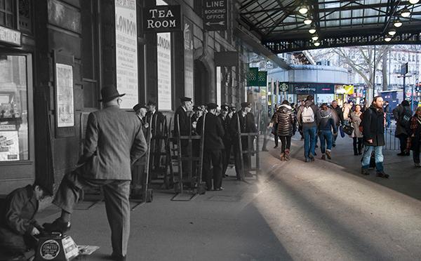 Victoria Station 1950-2014