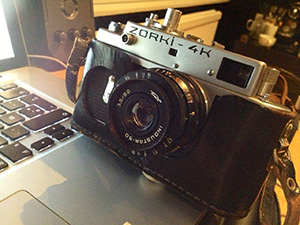 Zorki 4 Film Camera. 1967-73