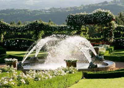 Jardin Blanc. Jardins d'Eyrignac. Image by Eric Sander