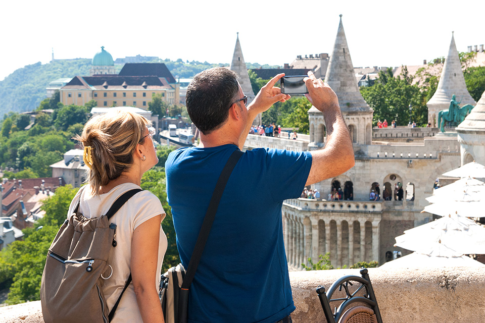 Getting that great picture with a smartphone - Budapest
