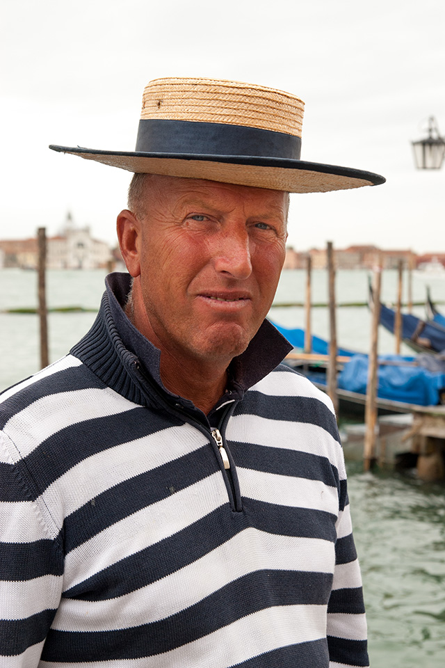 """""""The Gondolier"""" Does this say Venice? For me it does!"""