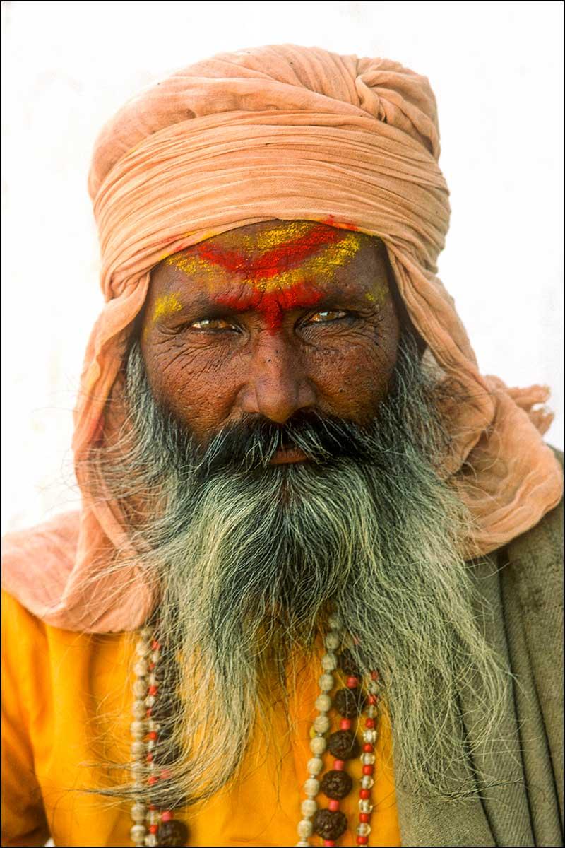 Sadu Holy Man, India. By Wilf James
